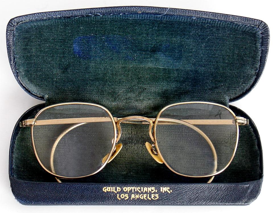 Vintage AO Liner American Optical wire eyeglasses glasses XLNT, gold ...