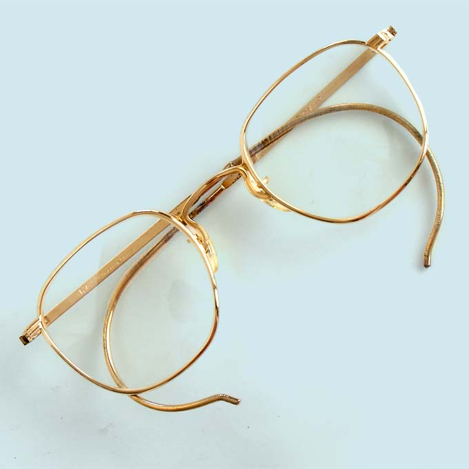 c17c920f457 Vintage wire eyeglasses American Optical AO Liner at  http   www.collectornet.