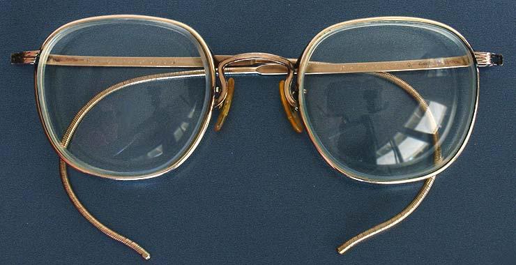 Vintage Ao Liner American Optical Wire Eyeglasses Glasses