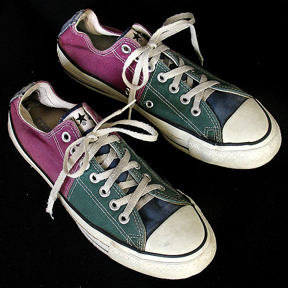 vintage american made converse all star chuck taylor multi color shoes for sale at http - All Converse Colors