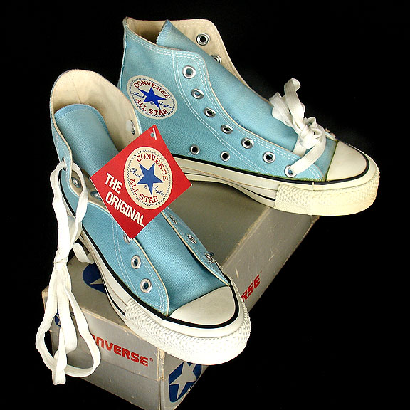 ab50b83b8f54 Vintage American-made Converse All Star Chuck Taylor