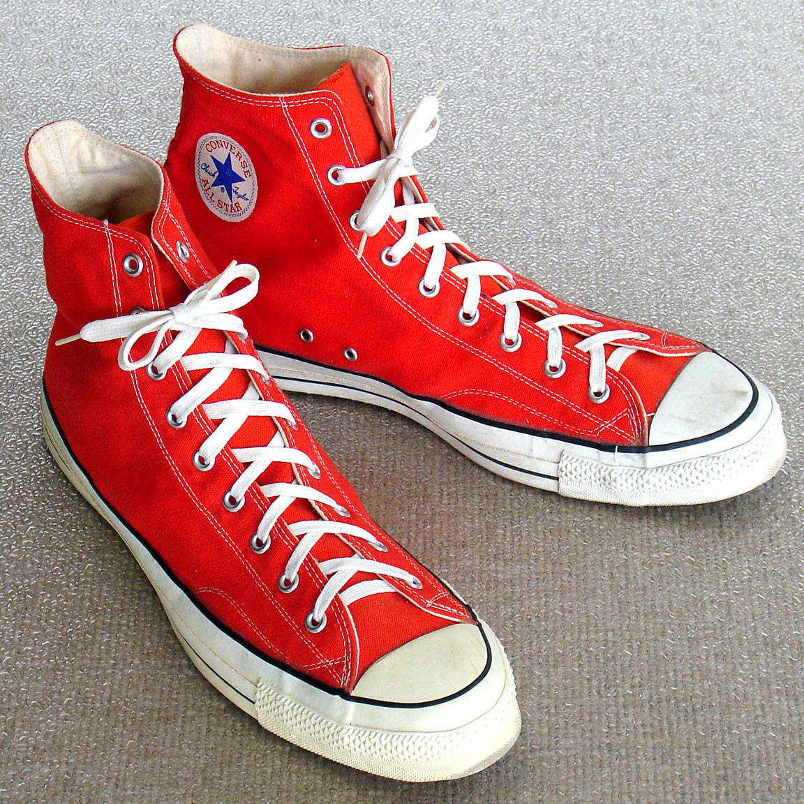 13c4723525df Vintage American-made Converse All Star Chuck Taylors For Sale