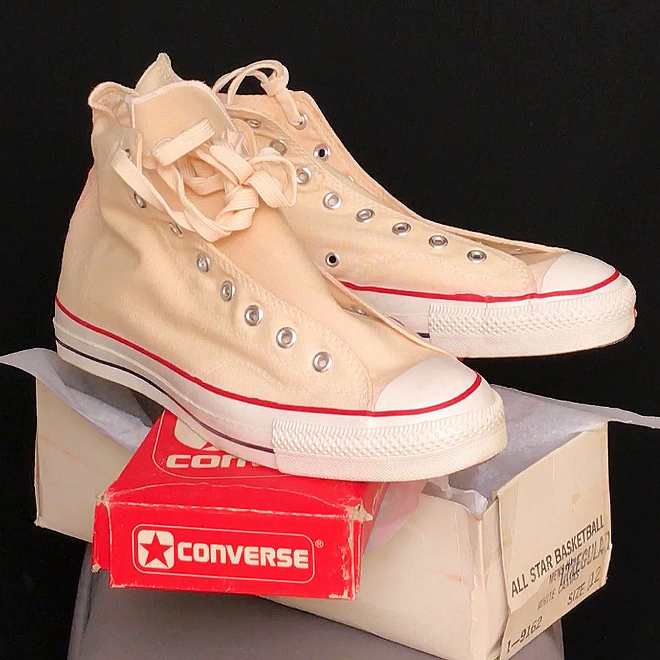 2859daf2560f Vintage American-made Converse All Star Chuck Taylor shoes for sale at  http