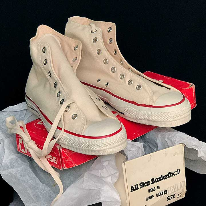 5e46e6086ff6 Vintage American-made Converse All Star Chuck Taylor shoes for sale at  http