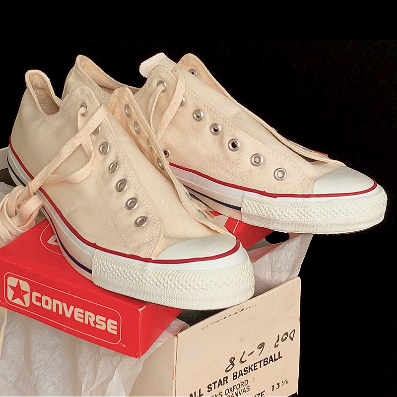 b2057fe8842a Vintage American-made Converse All Star Chuck Taylor shoes for sale at  http